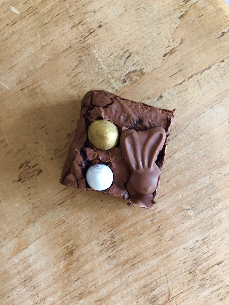 Chocolate Easter Egg Brownie