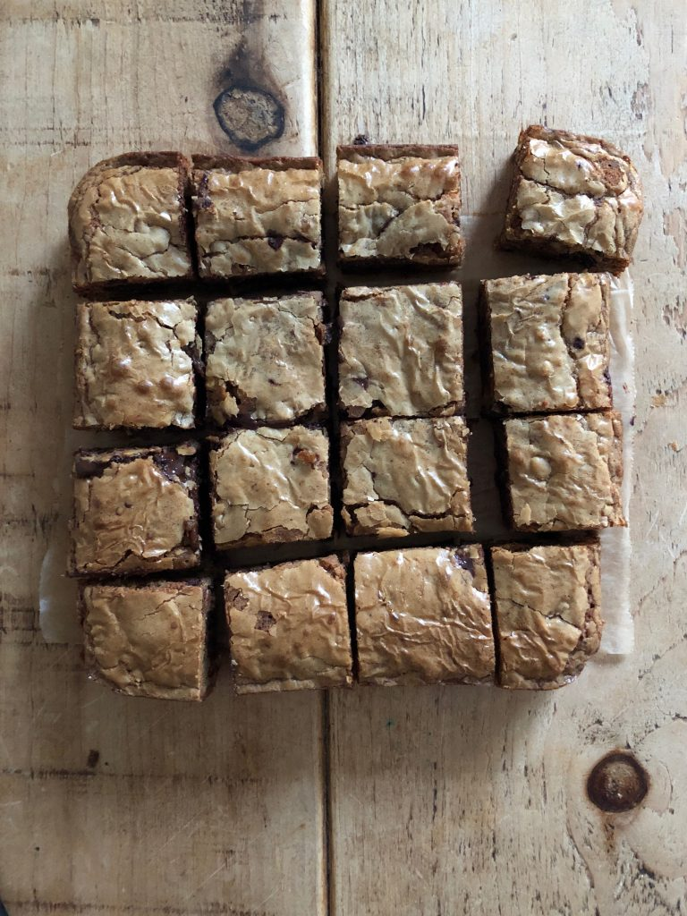 Brown Butter Miso Blondies - 2