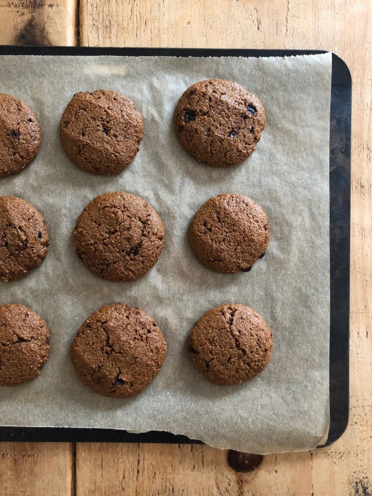 Ginger Molasses Cookies - 3