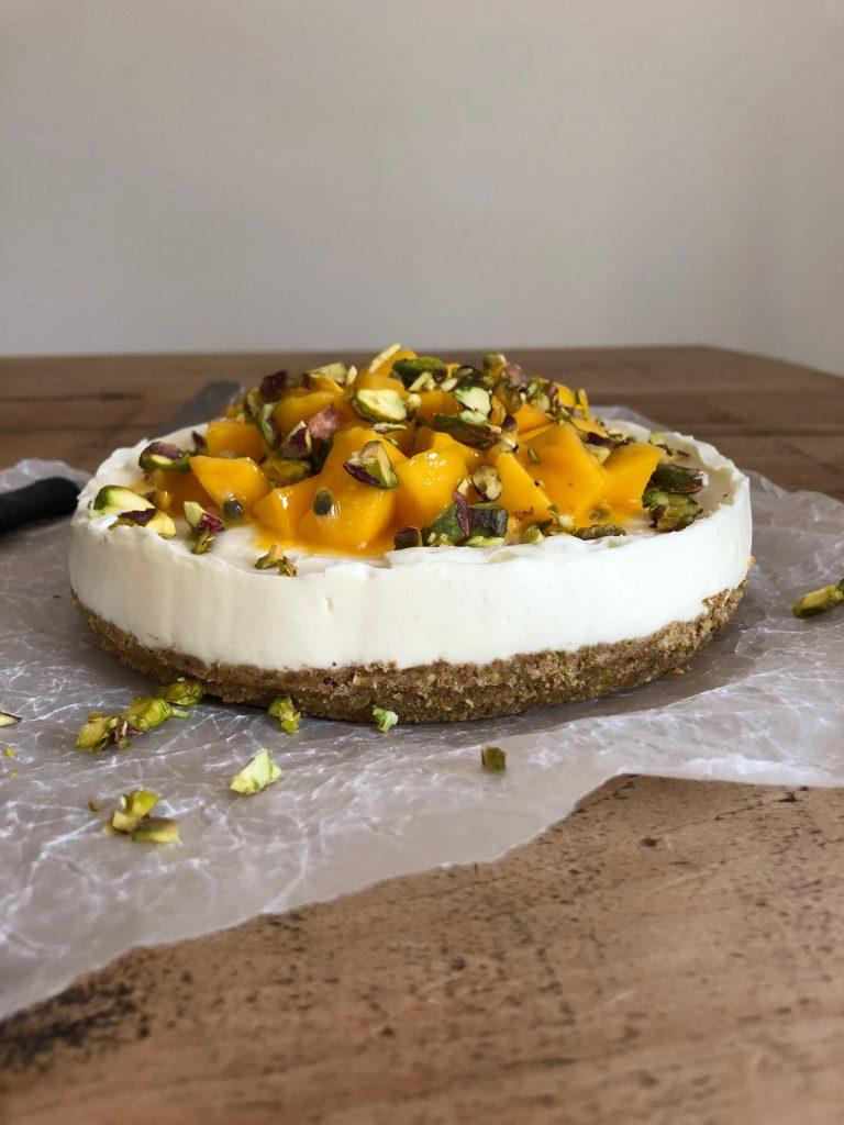 Mango & Pistachio Cheesecake - 6