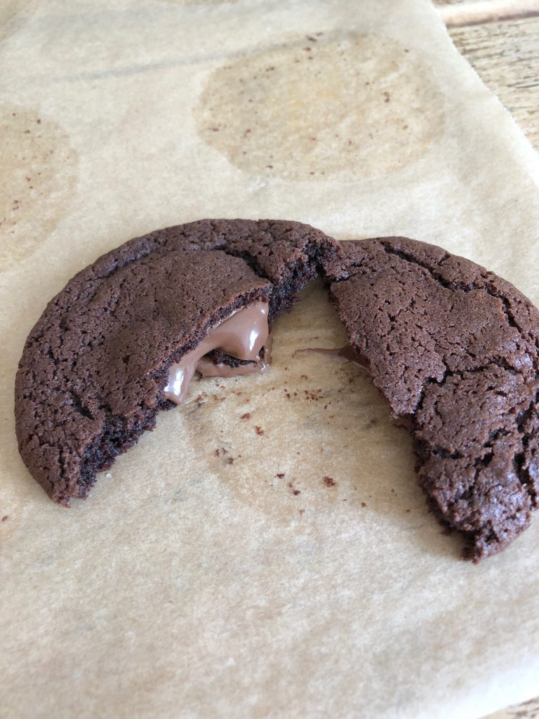 Nutella Stuffed Cookies - 6