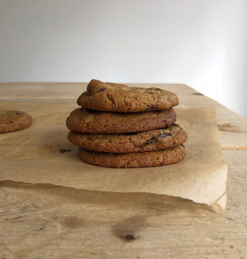 Wholemeal Raisin Chocolate Chunk Cookies - 4