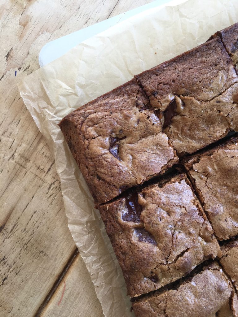 Brown Butter Butterscotch Chocolate Chunk Cookie Bars - 2