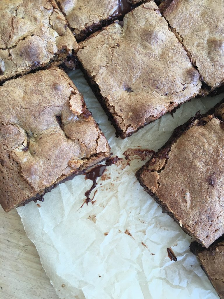 Brown Butter Butterscotch Chocolate Chunk Cookie Bars - 4