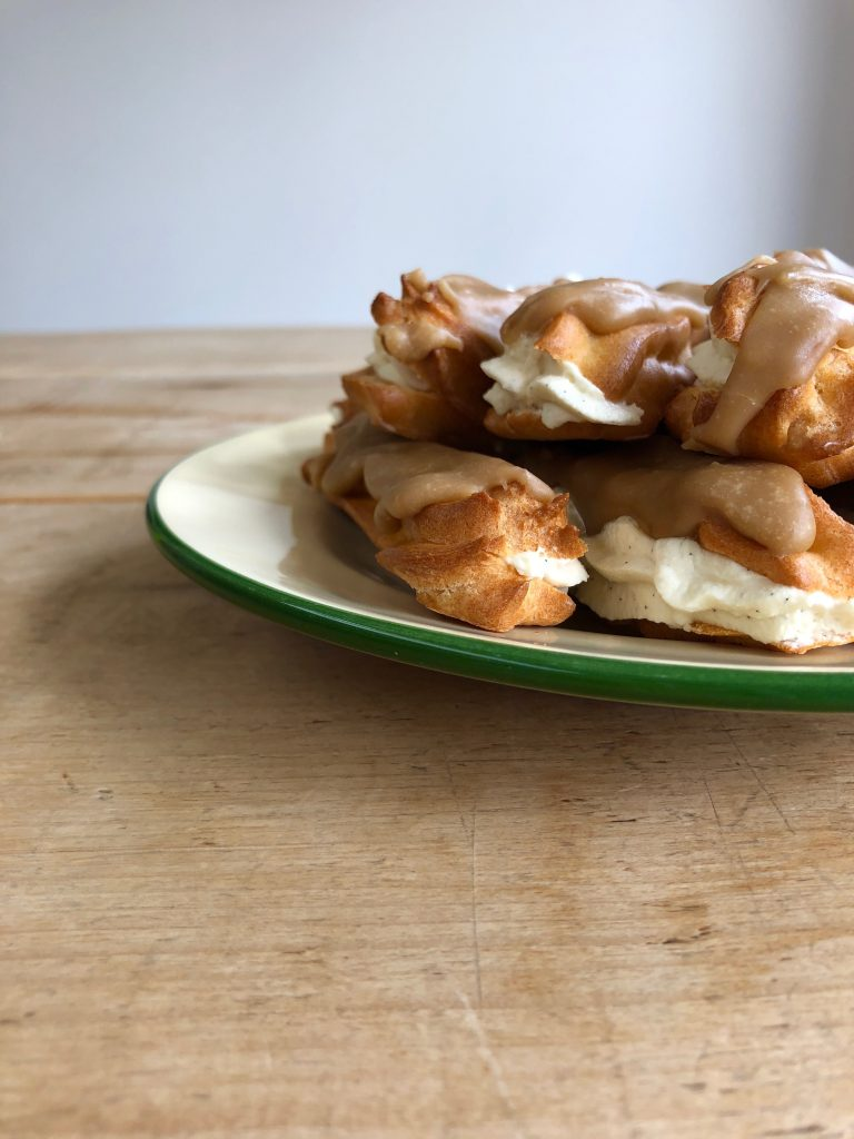 Butterscotch Eclairs - 4